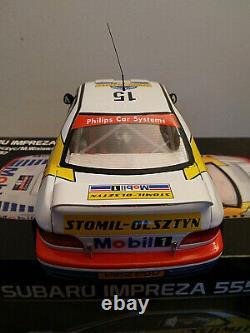1/18 Subaru Impreza N 15 Rac Rally 1997 Sunstar Limited Very Rare