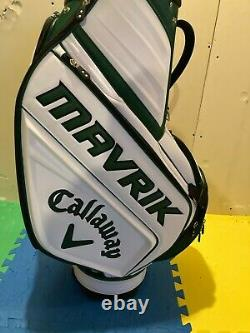 2020 Callaway Masters Limited Edition Staff Bag Very Rare