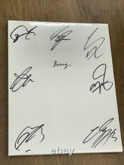 BTS be autographed interview photobook, unopened limited edition very rare