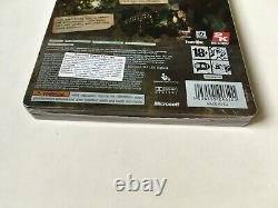 Bioshock Limited Tin Edition Xbox 360 Factory Sealed Brand New Very Rare