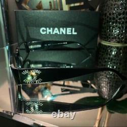 Chanel Eyeglasses 3116 Limited Edition Swarovski Crystal Black Frames VERY RARE