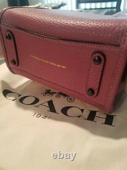 Coach Rogue 17 Mini Purse Very Rare Color Primrose New with Tags MINT