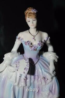 Coalport The Magic Of Old Vienna Figurine Limited Edition Very Rare