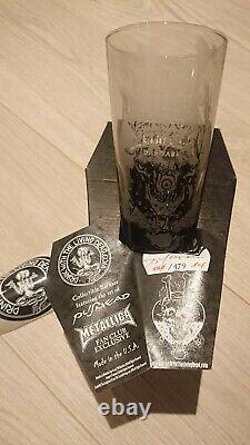 Complete set of Metallica Pushead glasses. Limited and very Rare