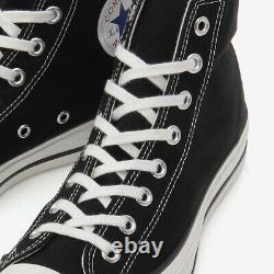 Converse Canvas All Star J HI Black MADE IN JAPAN Limited CHUCK TAYLOR Very Rare
