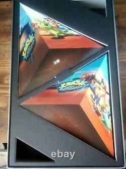 Crash Bandicoot Warped PS1 Limited Edition Very Rare