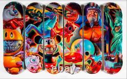 DGK x Ron English Full Set skateboard decks Limited Edition Very Rare