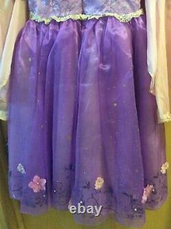 Disney Limited Edition 1 of 2000 Rapunzel Tangled Dress Costume size 6 Very Rare