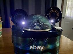 Disney Tron Legacy Light Up Mickey Ears Hat In Box Limited 1000 Very Rare