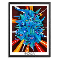 Doze Green Death Mask Limited Edition Print VERY RARE