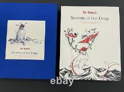 Dr. Seuss Secrets Of The Deep Secret Art Set of 2 Limited WithBook VERY RARE