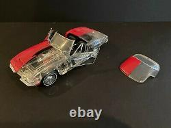 FRANKLIN MINT VERY RARE 1967 Corvette Clearcast Convertible Limited 1/24 No Box