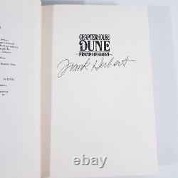 Frank Herbert CHAPTERHOUSE DUNE Signed Numbered Limited First Edition Very Rare