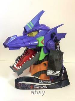 Godzilla vs Evangelion Popcorn Bucket Limited Very Rare Universal Studios Japan