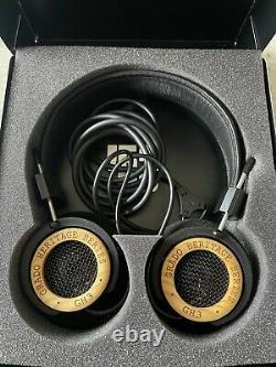 Grado GH3 Headphones Very Rare, Limited Edition