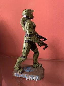 Halo 2 -Master Chief Statue-Microsoft Bungie Oxmox-limited Ed. Very rare