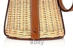 Hermes Farming Picnic Bag Osier (Wicker) Barenia Very Rare Limited Edition