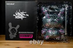 Kidrobot Angry Woebots Shadow Friend Limited 8 Dunny Very RARE