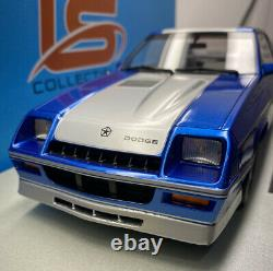 LS Collectibles 1/18 Scale 1985 Dodge SHELBY Very Very Rare Limited