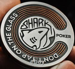 Lautie Shark Player Chip Coin Cupronickel/Copper Very Rare Limited EDC