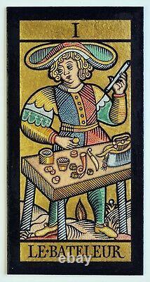 Le Tarot de Marseille Major Arcana Card Deck Very Rare Limited Edition Handmade