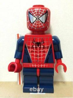 Lego jumbo fig Spider man Big figure Limited 50 Very Rare JAPAN MARVEL F/S