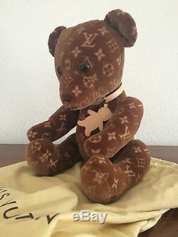 Louis Vuitton Bear DouDou Limited Edition Very Rare New In Box