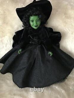Madame Alexander VERY RARE Wicked Witch Of The West 21 inch LIMITED EDITION
