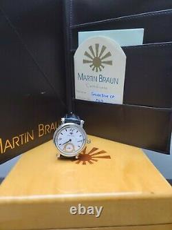 Martin Braun Classic Grande Blue Cp Very Rare Limited International Shipping