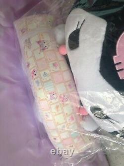 NEW Kuromi Plush Doll PC Cushion Pillow Premium Bandai Limited Very Rare Sanrio