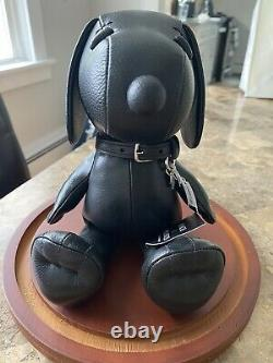 NWT Coach x Snoopy Peanuts 7 Black Leather Doll Limited Edition Very Rare wDome