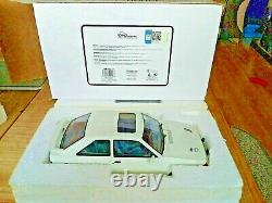 OTTO 118 FORD Escort Mk4 RS Turbo, VERY RARE WHITE MODEL, LIMITED 37/1250 RESIN