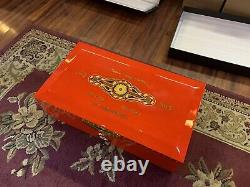 Perdomo Red 20th Anniversary Limited Edition Very Rare Humidor New