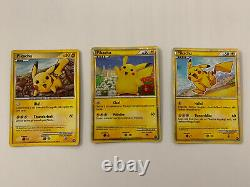 Pokemon Card Pikachu World Collection 9 Cards Set Limited Very Rare Collection