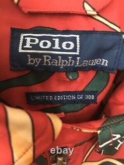 Polo Ralph Lauren Limited Edition Casino Jacket Size Medium 1 OF 300 VERY RARE