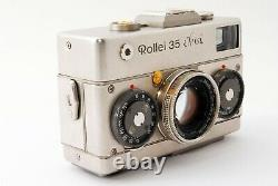 Rollei 35 platinum Classic 40 F/2.8 limited very rare japan from Tokyo #J06003