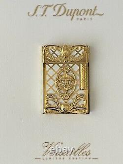 S. T. DUPONT GATSBY 18K LIGHTER VERSAILLES LIMITED EDITION -NEW IN BOX VERY Rare