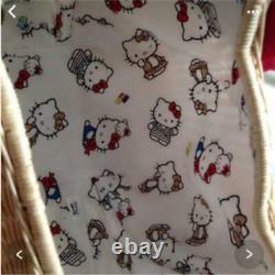 Sanrio Hello Kitty Nina Mew Basket bag from Japan very rare Super Cute Limited