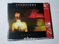 Scorpions Humanity Hour 1 CD Single Limited Edition VERY RARE BRAZIL- blackout