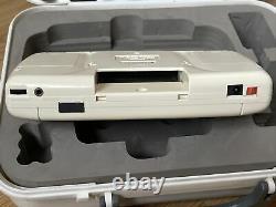 Sega Game Gear White Limited Edition Very Rare, Collectors, TV Tuner In Case