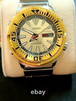 Seiko Zimbe Prospex SRPE14K Limited Edition Baby Tuna Very Rare 101 Of 999