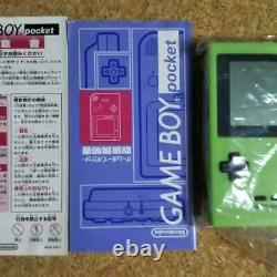 Shining Game Boy Pocket Emerald Green Imagineer Limited from Japan Very rare