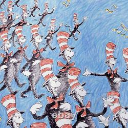 Singing Cats Dr. Seuss Art (Ted Geisel) Limited Edition Very RARE MINT