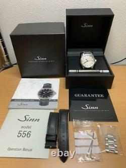 Sinn 556 Silver Japan Limited Edition of 50 Automatic Guilloche Men's Very Rare