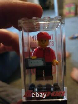 Snap On Diagnostic Lego Figure Very rare! Limited Edition