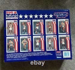 Starting Lineup 1992 USA BASKETBALL NBA Dream Team HOF Limited Edition Very RARE