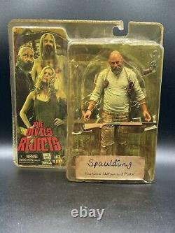 The Devils Rejects Captain Spaulding Action Figure Limited Very RARE Rob Zombie
