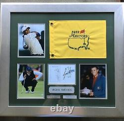 Tiger woods Limited Edition Very Rare 2005 Masters Signed with Authentication