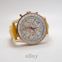 VERY RARE BREITLING Montbrillant 01 Limited Edition Navitimer 18K Gold RB0131