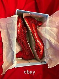 VERY RARE The Wizard Of Oz LIMITED EDITION Dorothy's Ruby Slippers Prop Replica